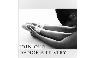 Ballet Dancer Stretching