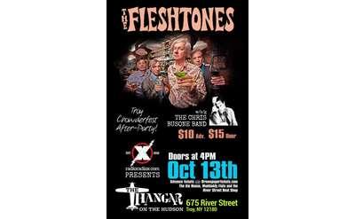 The Fleshtones and Chris Busone poster