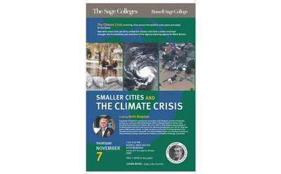 Climate Crisis Talk Poster
