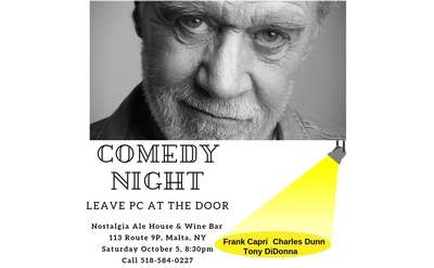 Leave Political Correctness at the door. A fun night for sure!