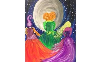 sanderson sisters painting