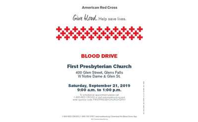 blood drive poster
