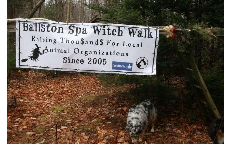 Ballston Spa Witch Walk Banner