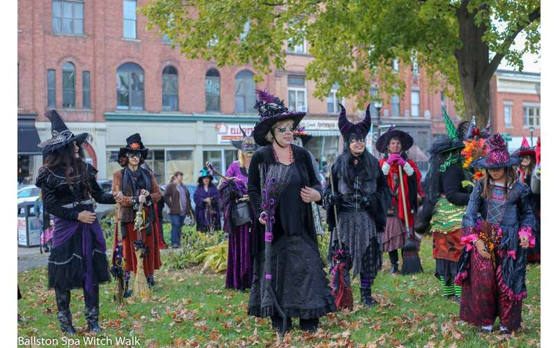Ballston Spa Witch Walk Photo