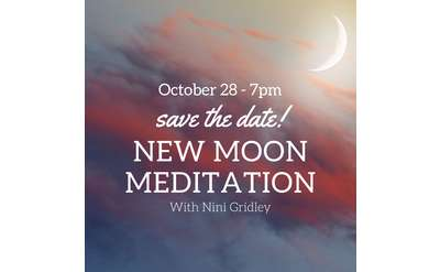 New Moon Meditation at KindNest 10/28/19