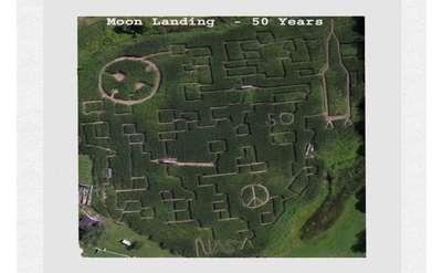 2019 Moon Landing Maze