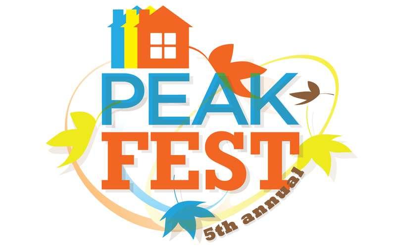 Peak Fest logo