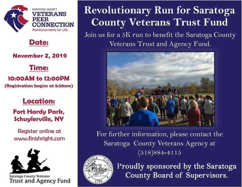 flyer for the revolutionary run