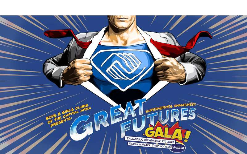 Great Futures Gala: Superheroes Unmasked!