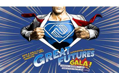 Great Futures Gala: Superheroes Unmasked!