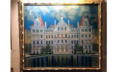 painting of the nys capitol building