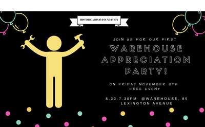 Warehouse Appreciation Party
