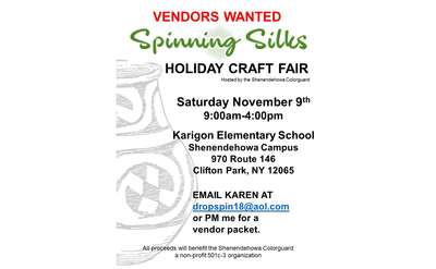 Spinning Silks Holiday Craft Fair Post