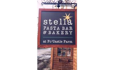 Stella Road Sign