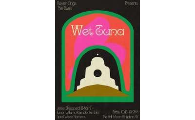 Wet Tuna Poster. Design by Bailey Elder