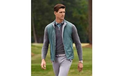 Man wearing Peter Millar outfit
