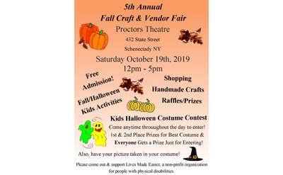 5th Annual Fall Craft and Vendor Fair