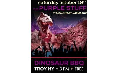 The Purple Stuff at Dino BBQ
