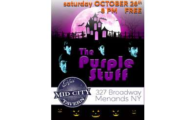 The Purple Stuff Halloween