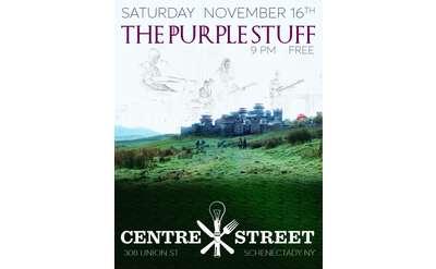The Purple Stuff rocks Centre Street Pub
