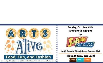 arts alive event promo image
