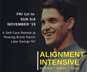 speaker and details about alignment intensive