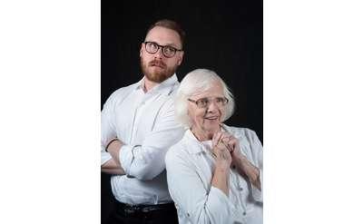 Pictured: Tom Templeton (The Son), Carole Edie Smith (Ida). Photo by Katria Foster.