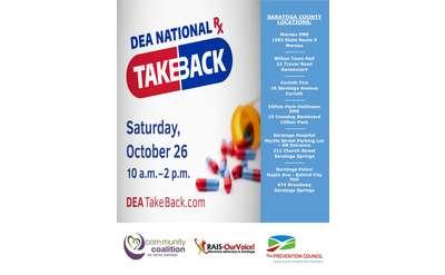 National Prescription Drug Take Back Day Poster