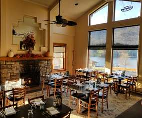 The View Restaurant Interior