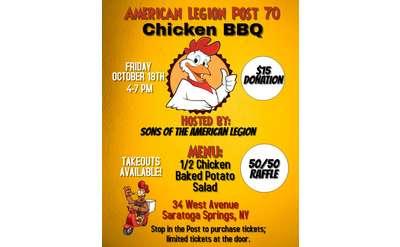 Chicken BBQ Flyer