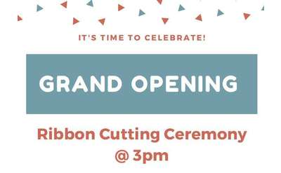 Our Grand Opening Ceremony