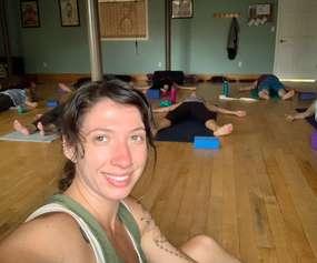 Yoga at River Street Plaza