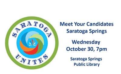 Saratoga Unites Meet the Candidates summary