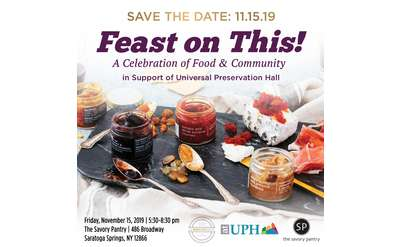Feast on This Save the Date