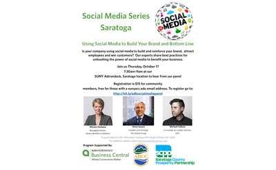 Social Media Seminar Series Saratoga October 19