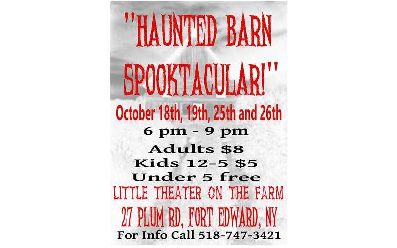 Haunted Barn Poster