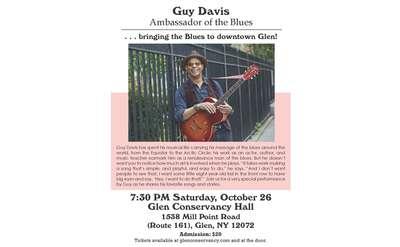 guy davis event poster