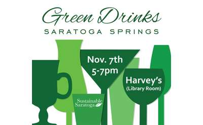 Green Drinks Nov Graphic