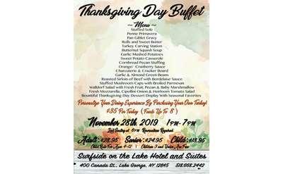 thanksgiving dinner poster
