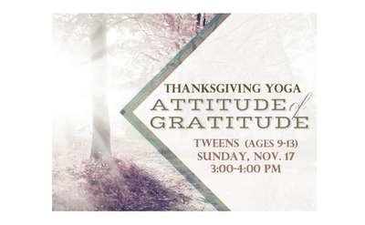 Tweens Thanksgiving Banner