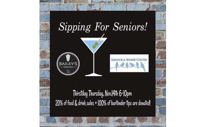 Sipping for Seniors Banner