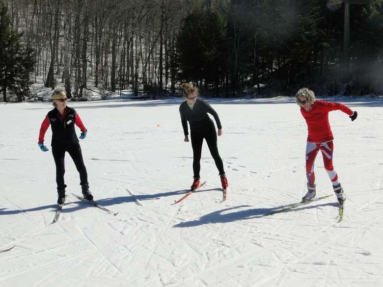Ladies Skate Ski Clinic at Lapland Lake