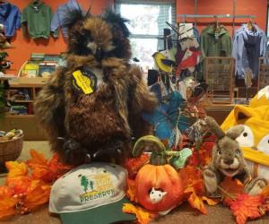 fall items on display