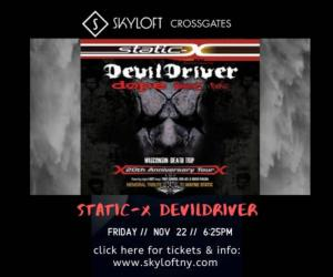 devildriver and other bands poster