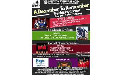 a december to remember concert poster