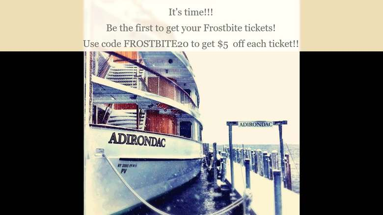 Frostbite Cruise Promotional Banner