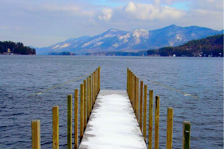 Lake George Dock Photo