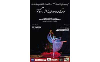 The Nutcracker at Hartman Theatre Poster