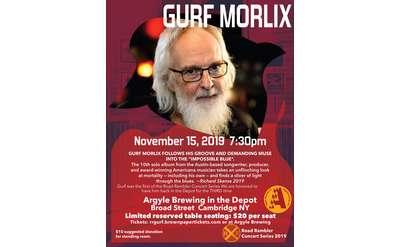Gurf Morlix concert poster