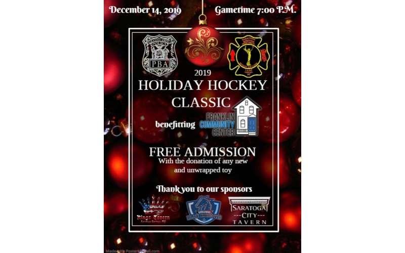 Holiday Hockey Classic Flyer